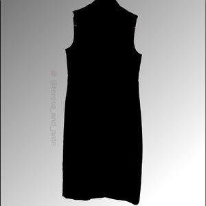 Ann Taylor Loft High Neck Zip Up Dress